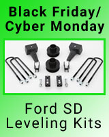 Cyber Monday Ford Leveling Kit Sale