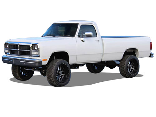 W-Series Pickup w/Cummins Lift Kits