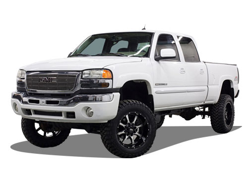 2001-2010 Sierra 2500HD Lift Kits