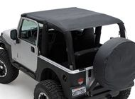 Extended Jeep Tops
