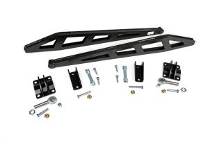 """Silverado 1500 2007-2018 Chevy 4WD (w/ 0-7.5"""" Lift) - Rear Traction Bar kit by Rough Country"""