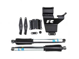 F250/F350 Super Duty 2011-2021 Ford 4WD Dual Steering Stabilizer Kit (w/Bilstein cylinders) by ReadyLift