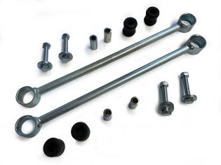 """F250/F350 2008-2019 Ford 4wd (w/ 6-8"""" Lift) - Rear Sway Bar End Links by BDS Suspension"""