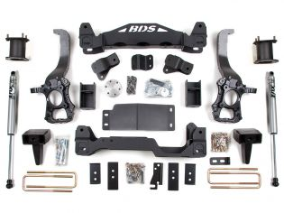 "6"" 2014 Ford F150 2WD Lift Kit by BDS Suspension"