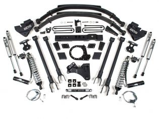 """8"""" 2017-2019 Ford F250/F350 4WD (w/diesel engine) 4-Link CoilOver Lift Kit by BDS Suspension"""