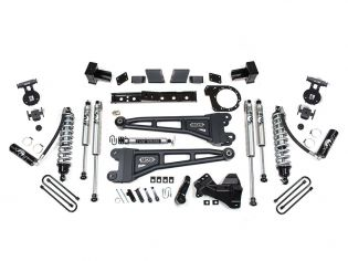 """6"""" 2020-2021 Ford F250/F350 4WD Fox Coilover Radius Arm Lift Kit by BDS Suspension"""