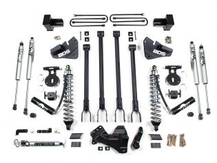 "4"" 2020-2021 Ford F250/F350 4WD (w/diesel engine) Fox CoilOver 4-Link Arm Lift Kit by BDS Suspension"