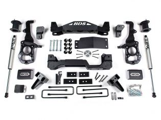 "6"" 2021 Ford F150 4WD Lift Kit by BDS Suspension"