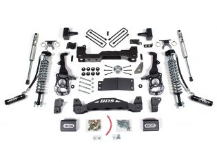 "4"" 2021 Ford F150 4WD Fox Coilover Lift Kit by BDS Suspension"