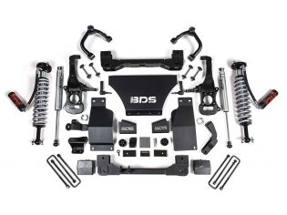 """4"""" 2019-2021 GMC Sierra 1500 AT4 4WD Fox Coilover Lift Kit by BDS Suspension"""
