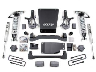 """4"""" 2007-2013 Chevy Silverado 1500 4WD - Fox Coil Over Lift Kit by BDS Suspension"""