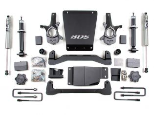 """4"""" 2007-2013 Chevy Silverado 1500 4WD High Clearance Lift Kit by BDS Suspension"""