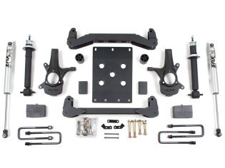 """4"""" 2007-2013 Chevy Silverado 1500 2WD High Clearance Lift Kit by BDS Suspension"""