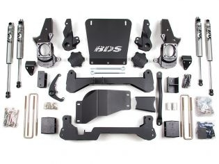 """7"""" 2001-2006 GMC Sierra 2500 (Non HD) 4WD High Clearance Lift Kit by BDS Suspension"""