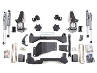 "4.5"" 2001-2010 GMC Sierra 2500HD/3500HD 4WD Lift Kit by BDS Suspension"