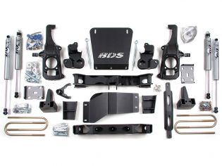 "6.5"" 2011-2019 Chevy Silverado 2500HD/3500HD 4WD & 2WD Lift Kit by BDS Suspension"