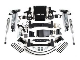 "8"" 2014-2018 Chevy Silverado 1500 4wd Fox Coilover Lift Kit by BDS Suspension"