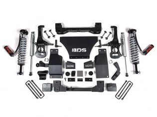 """6"""" 2019-2021 GMC Sierra 1500 4wd Fox Coilover Lift Kit by BDS Suspension"""
