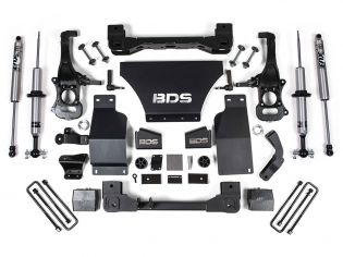 """6"""" 2019-2021 GMC Sierra 1500 4wd Fox Snap Ring Coilover Lift Kit by BDS Suspension"""