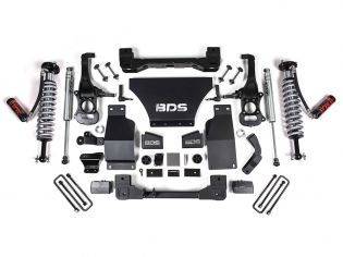 """4"""" 2019-2021 GMC Sierra 1500 4wd Fox Coilover Lift Kit by BDS Suspension"""