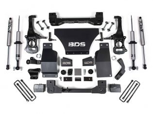 """4"""" 2019-2021 GMC Sierra 1500 4wd Fox Snap Ring Coilover Lift Kit by BDS Suspension"""