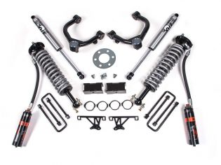 "3.5"" 2019-2021 Chevy Silverado 1500 4WD Fox DSC Coilover Lift Kit by BDS Suspension"