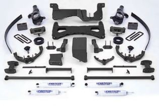 "8"" 2001-2006 GMC Sierra 2500HD 4WD Performance Lift Kit by Fabtech"