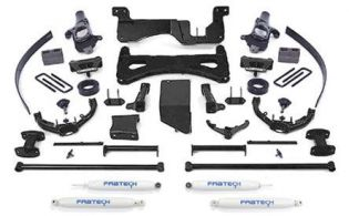 "8"" 2007-2008 GMC Sierra 3500 4WD Performance Lift Kit by Fabtech"