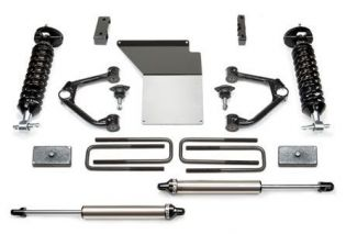"""4"""" 2014-2018 GMC Sierra 1500 4WD (w/aluminum or stamped steel factory arms) Budget Lift Kit w/ DirtLogics by Fabtech"""