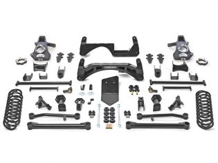 "6"" 2007-2014 GMC Yukon XL 1500 4WD w/ AutoRide Lift Kit by Fabtech"