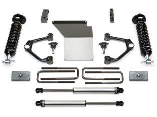 "4"" 2007-2013 Chevy Silverado 1500 4WD Budget Lift Kit w/ DirtLogics by Fabtech"