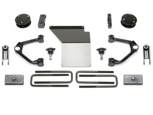 """4"""" 2014-2018 GMC Denali 1500 4WD (w/aluminum or stamped steel factory arms) Budget Lift Kit by Fabtech"""