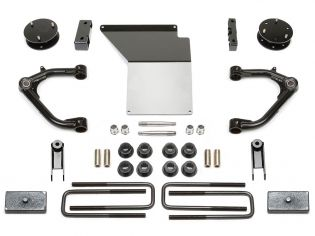 """4"""" 2014-2018 GMC Denali 1500 4WD (w/aluminum or stamped steel factory arms) Uniball UCA Lift Kit by Fabtech"""