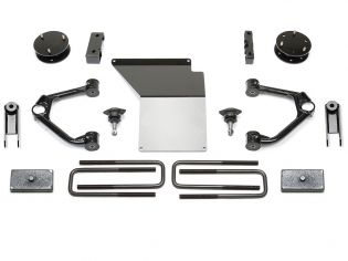 """4"""" 2014-2018 GMC Denali 1500 4WD (w/cast steel factory arms) Budget Ball Joint UCA Lift Kit by Fabtech"""