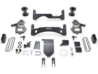 """6"""" 2014-2018 GMC Denali 1500 4WD (w/cast steel factory arms) GEN II Lift Kit by Fabtech"""