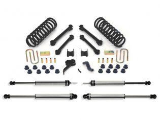 "4.5"" 2009-2013 Dodge Ram 3500 4WD (w/diesel engine) Lift Kit w/ DirtLogics by Fabtech"