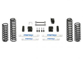 "3"" 2007-2018 Jeep Wrangler JK 4WD (2dr) Budget Lift Kit by Fabtech"