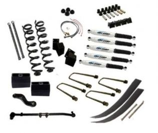 """7"""" 1966-1975 Ford Bronco 4WD Deluxe Lift Kit  by Jack-It"""