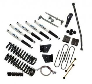 """6"""" 1978-1979 Ford Bronco 4WD Deluxe Lift Kit  by Jack-It"""