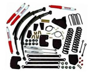 """8"""" 2005-2007 Ford F250/F350 4WD Deluxe Lift Kit  by Jack-It"""