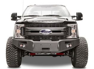 F250/F350 2005-2007 Ford Front Winch Bumper by Fab Fours