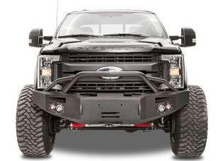 F250/F350 2005-2007 Ford Front Winch Bumper w/ Pre-Runner by Fab Fours
