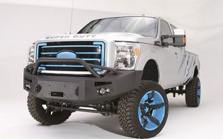 F250/F350 2011-2016 Ford Front Winch Bumper w/ Pre-Runner by Fab Fours