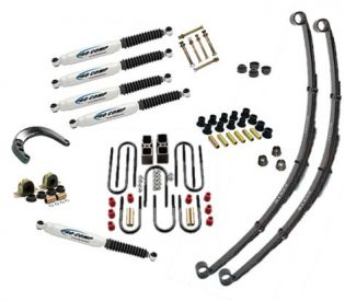 """4"""" 1967-1987 GMC 1/2 & 3/4 ton Pickup 4WD Deluxe Lift Kit by Jack-It"""
