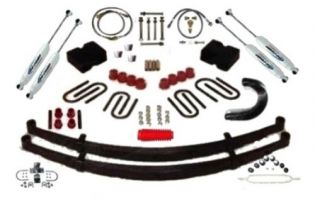 """6"""" 1967-1972 GMC 1/2 & 3/4 ton Pickup 4WD Deluxe Lift Kit by Jack-It"""