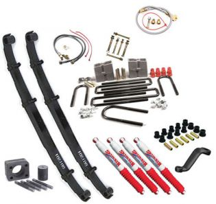 "8"" 1977-1991 GMC 1 ton Pickup 4WD Budget Lift Kit by Jack-It"