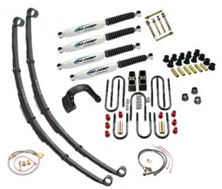 "8"" 1967-1972 GMC 1/2 & 3/4 ton Pickup  4WD Budget Lift Kit by Jack-It"
