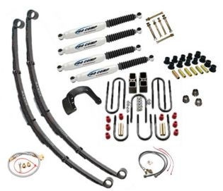 "8"" 1967-1972 GMC 1/2 & 3/4 ton Pickup 4WD Deluxe Lift Kit by Jack-It"