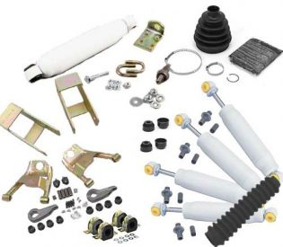 """2"""" 1995-2004 Chevy S-10 ZR2 Pickup 4WD Deluxe Lift Kit by Jack-It"""