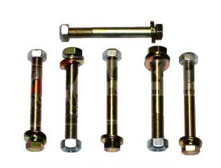 """All Full Size 1980-1998 Fords (w/ 3"""" Rr Sprgs) 4WD - Rear Spring Eye Bolt Kit by Jack-It"""